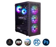 Компьютер Зеон для современных игр, систем проектирования, работы с фото [S72W]